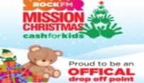 RockFM Mission Christmas cash for kids